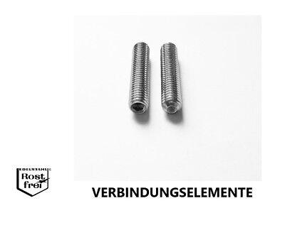 50 Stück M3X5 Gewindestifte mit Ringschneide DIN 916 Edelstahl A2