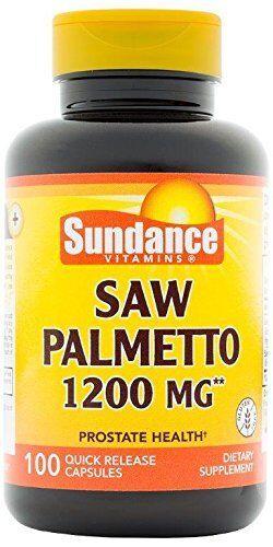 Sundance Vitaminas Saw Palmetto 1200Mg Tabletas 100 Count Cada