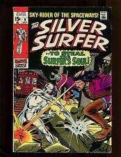 Silver Surfer #9 FN Buscema Adkins Mephisto Death of Flying Dutchman