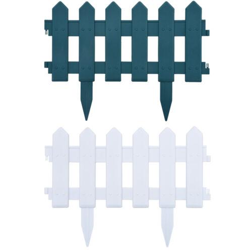 10m Beetumrandung Rasenkante Beeteinfassung Raseneinfassung Zierzaun Ziergitter