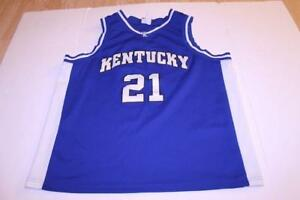 new arrivals 139ce 1cc16 Details about Men's Kentucky Wildcats #21 XL Basketball Jersey (Royal Blue)  Footlocker Jersey