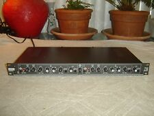Rane DMS 22, Dual Mic Stage, Mic Preamp, 3 Band Equalizer, Vintage Rack