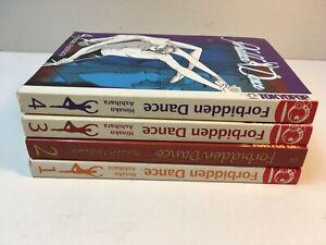 Forbidden Dance vol. 1 2 3 4 by Hinako Ashihara Manga Book Complete Lot English