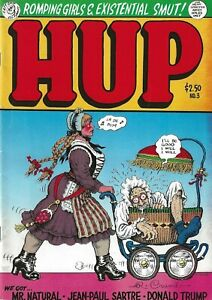 R-CRUMB-HUP-NUMBER-3-1989-1ST-PRINTING-SIGNED-BY-R-CRUMB-DONALD-TRUMP-STORY
