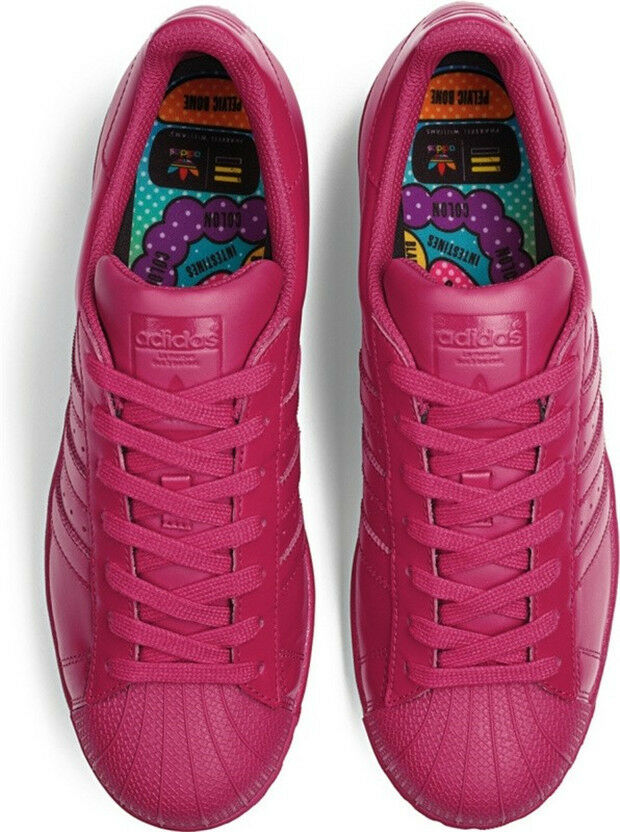 Adidas Rose Supercolour Rose Adidas Pharrell UK 9.5 Réduit- c1f0c9