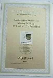 ERSTTAGSBLATT-wappen-der-laender-der-bundesrepublik-deutschland-sachsen-10-3-1994