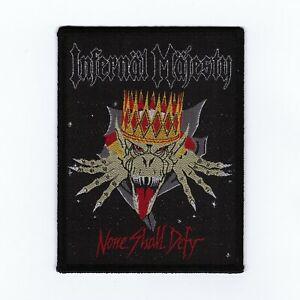 Infernal-Majesty-034-None-Shall-Defy-034-Patch-slayer-razor-sacrifice-morbid-saint-dri