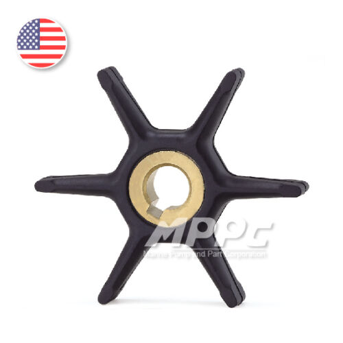 Water Pump Impeller 0434424 for Johnson Evinrude OMC Outboard Boat Motor Parts