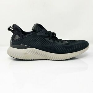 Adidas-Mens-Alphabounce-EM-BY4264-Black-Running-Shoes-Lace-Up-Low-Top-Size-10-5