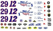 AJ Foyt Eddie Sachs Dean Van Lines Indy 1/25th - 1/24th Scale Waterslide Decals