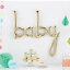Baby-Shower-Balloon-Word-Banner-White-Gold-Party-Supplies-Decoration-USA-made