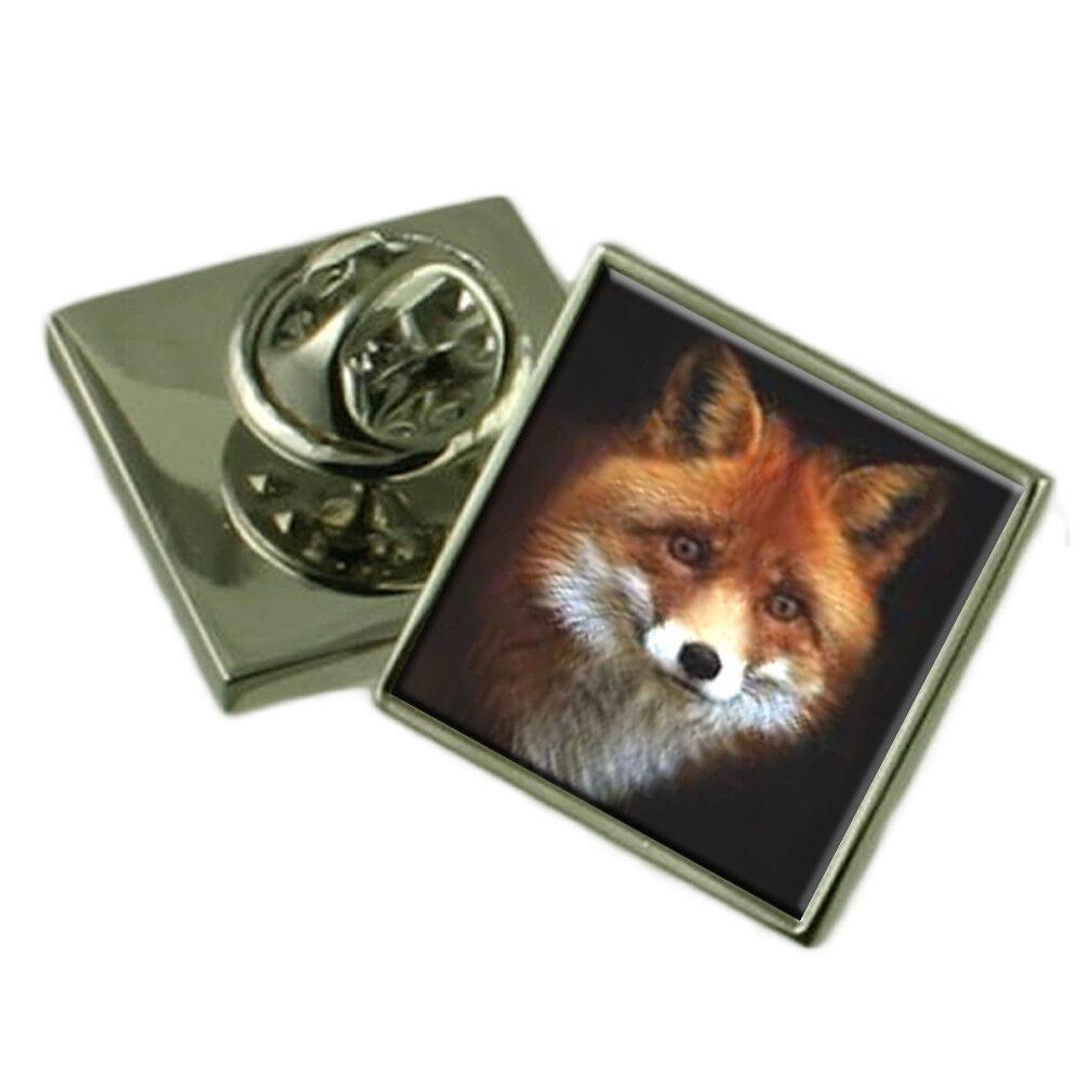 Red Fox argentoo Sterling Spilla da Bavero Scatola Scatola Scatola Regalo 056772
