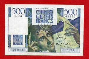 Ref-B-105-500-FRANCS-CHATEAUBRIAND-13-05-1948-SUP