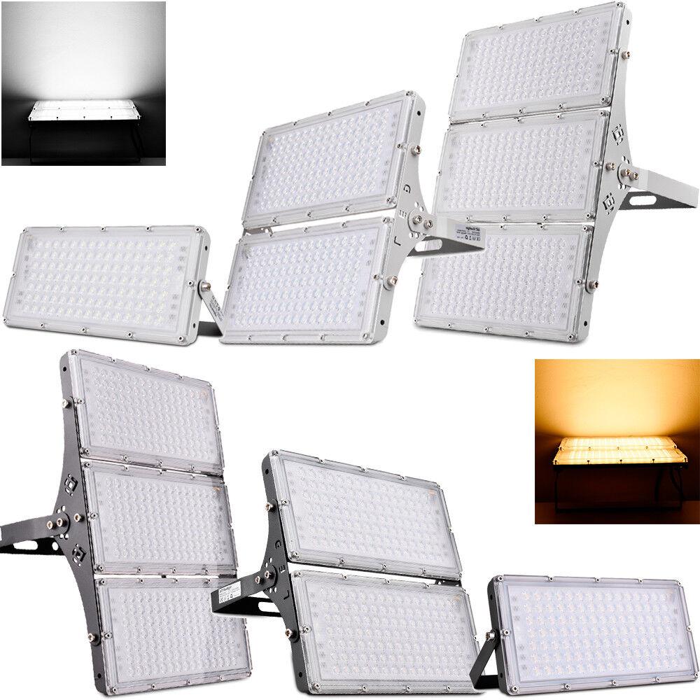 100W 200W 300W Modul LED Fluter Scheinwerfer Flutlicht Gartenlamp Aussenstrahler