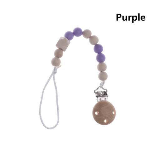 Anti-Drop Rope Infant Nipple Holder Dummy Clips Baby Teething Pacifier Chain