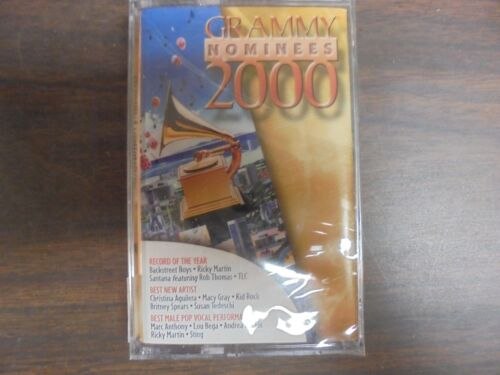 "NEW SEALED ""Grammy Nominees 2000 Cassette Tape G"