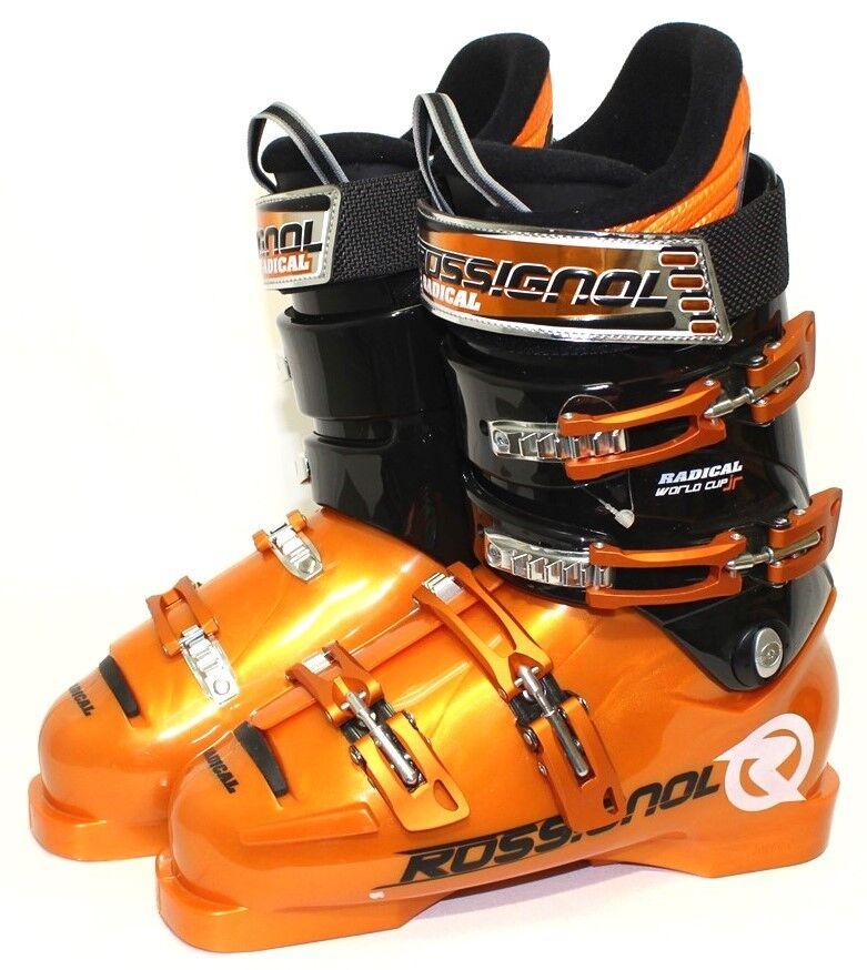 Rossignol Radical World Cup Jr. Ski Boots - Size 8   Mondo 26 New