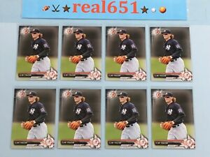 2017-Bowman-BP16-CLINT-FRAZIER-Rookie-Prospect-Lot-x-8-RC-Yankees-Batch