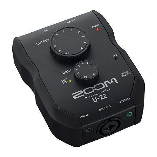 ZOOM Handy audio interface U-22 New Japan new .