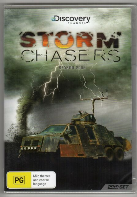 Storm Chasers Season 2009 PAL Region 4 Australian Rel. 2-DVD Set New & Sealed