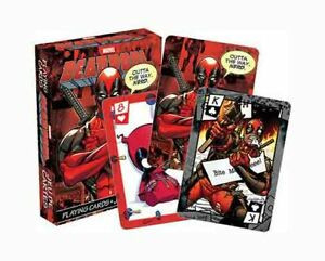 Marvel-Comics-039-DEADPOOL-039-Playing-Cards-Licensed-Product-Brand-New-039-MERC-039