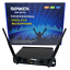 thumbnail 4 - SONKEN WM3500 2X PROFESSIONAL UHF WIRELESS MICROPHONES WITH LED MIC FREQ DISPLAY