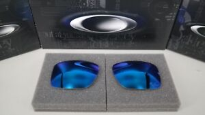NEW-Oakley-HOLBROOK-METAL-PRIZM-SAPPHIRE-OO4123-Replacement-Lens-Authentic