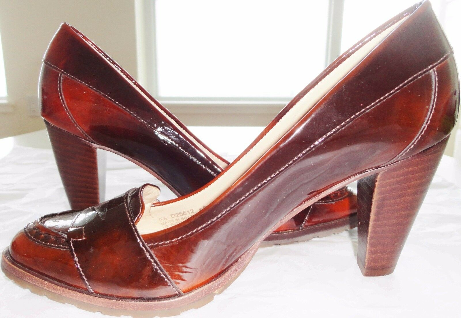 COLE HAAN LEATHER HIGH HEELS SHOES DESIGNER LIMITED EDITION 100% AUTHENTIC