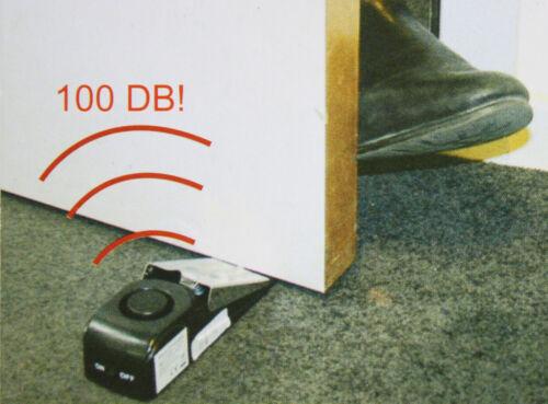 Türalarm 3 x Türstopper Haustüralarm Haustür 100dB Alarmanlage Türsicherung 149