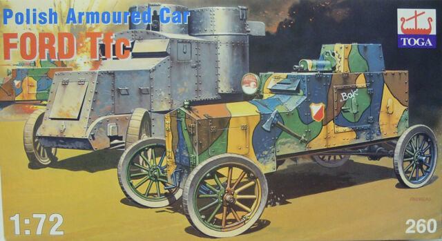 Polonais Char à Roues Ford Tfctfc, 1/72, Toga , Plastique, Neuf