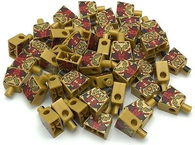 Lego 50 New Yellow Minifigure Pearl Gold Torsos No Arms Chima Pieces