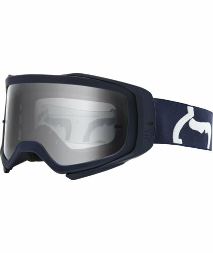 Adult MX ATV UTV MTB Offroad CLEAR LENS Fox Racing 2020 AIRSPACE Goggles-NVY