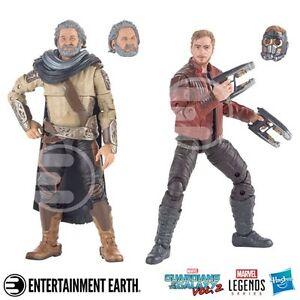 Marvel Legends Les Gardiens De La Galaxie Star-lord Et Ego Pack De 2