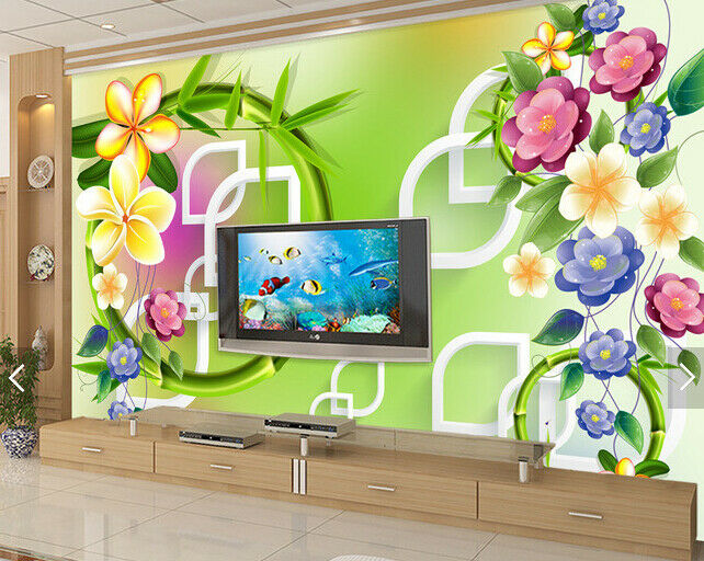 3D Blossom 4020 Wallpaper Murals Wall Print Wallpaper Mural AJ WALL UK Carly