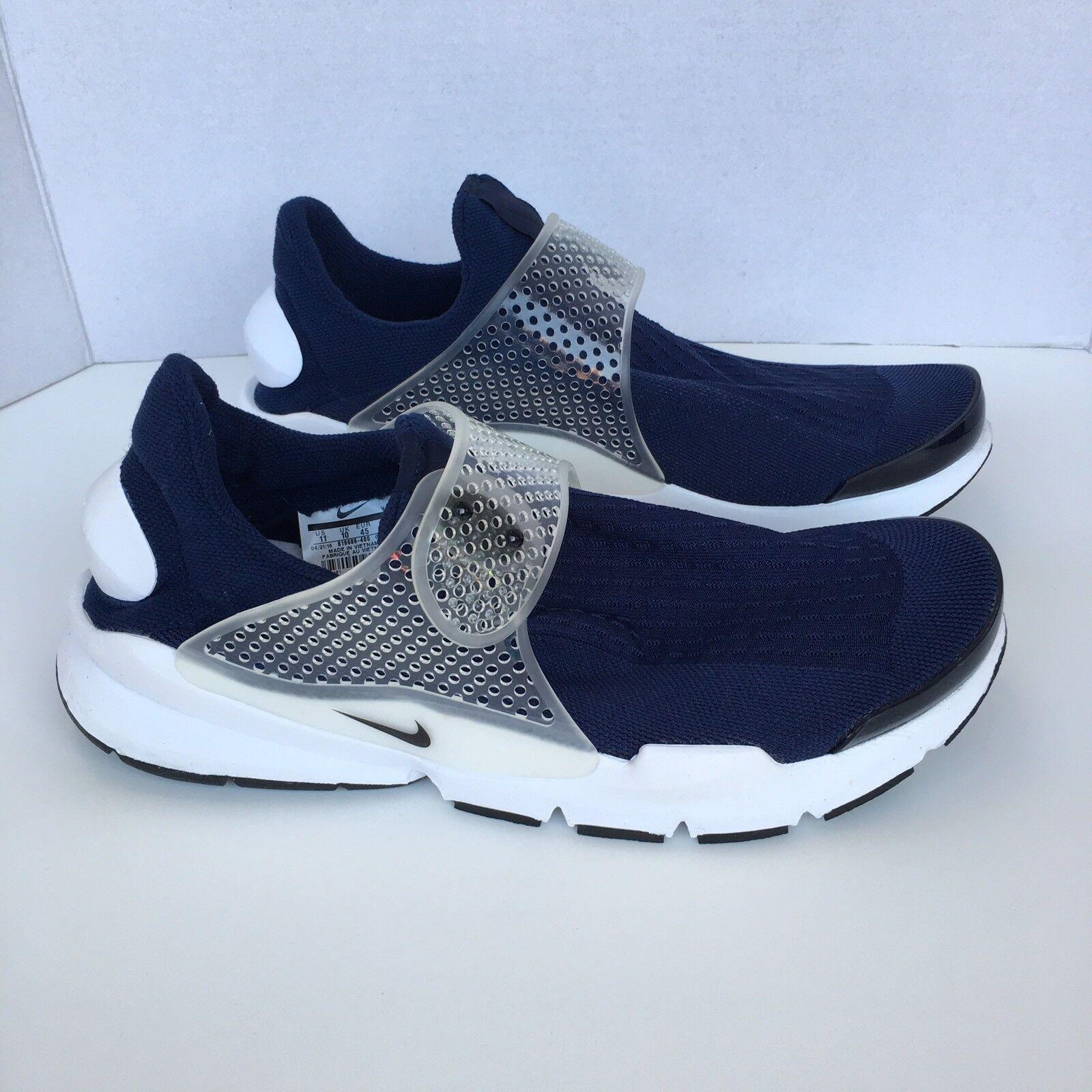 Nike sock freccia blu - bianco dimensioni mezzanotte marina 819686-400 kjcrd