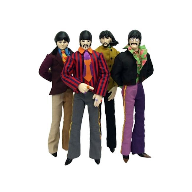 FACTORY ENT. YELLOW SUBMARINE THE THE THE BEATLES COMPLETE SET JOHN RINGO PAUL GEORGE 206b51