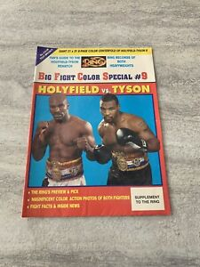 The-Ring-Boxing-Magazine-Big-Fight-Color-Special-9-Holyfield-vs-Tyson-Rare