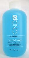 Cnd Essentials Scrubfresh Nail Surface Sanitizer/nail Prep For Polish 8 Oz