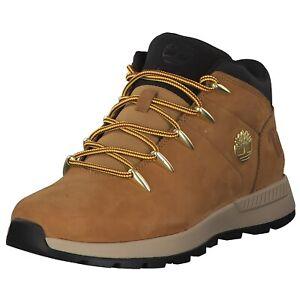 Timberland-Sprint-Trekker-Hommes-Sneaker-High-Chaussures-Marron-De-Sport