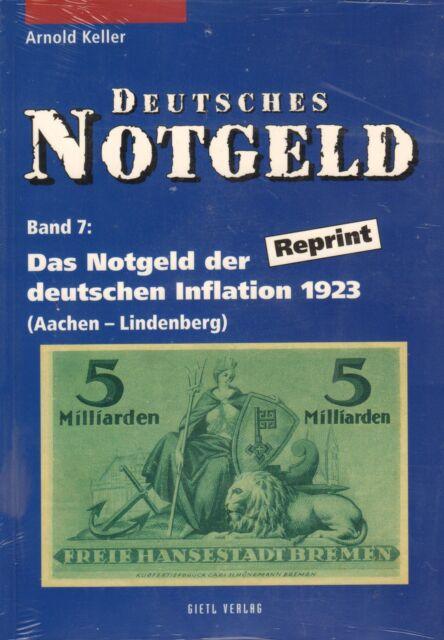 6016: German Token, Vol. 7+8, the token of DT. inflation 1923, A. Keller
