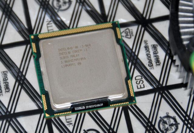 Intel Core i3-540 3.06GHz 4MB Cache LGA1156 CPU Processor - SLBTD