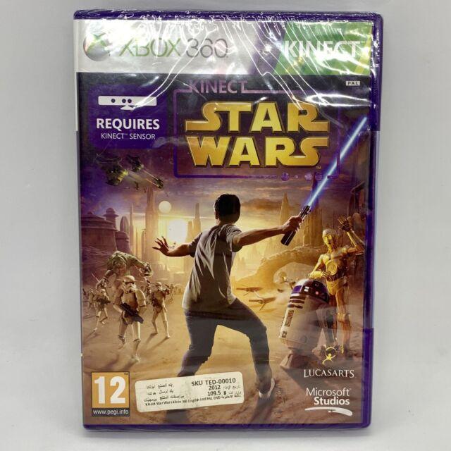 Kinect Star Wars-Microsoft Xbox 360-Brand New & Sealed 2012