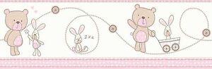 Carta-Parati-Smita-Passamano-Carosello-DLB50073-Orso-Coniglietto-coniglietto