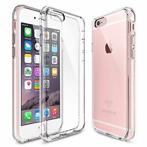 For-Apple-iPhone-7-Plus-Case-Silicone-Clear-Cover-Bumper-Rubber-Protective