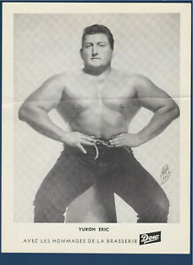 YUKON-ERIC-1950-039-s-WRESTLING-DOW-PICTURE-8-1-4-034-X-11-034-32272