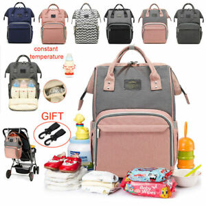 Baby-Diaper-Nappy-Changing-Mummy-Bag-Large-Rucksack-Hospital-Maternity-Backpack