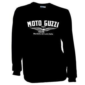 New Moto Guzzi Logo Motorcycle Biker Classic Retro T-Shirt Sizes S to 2XL