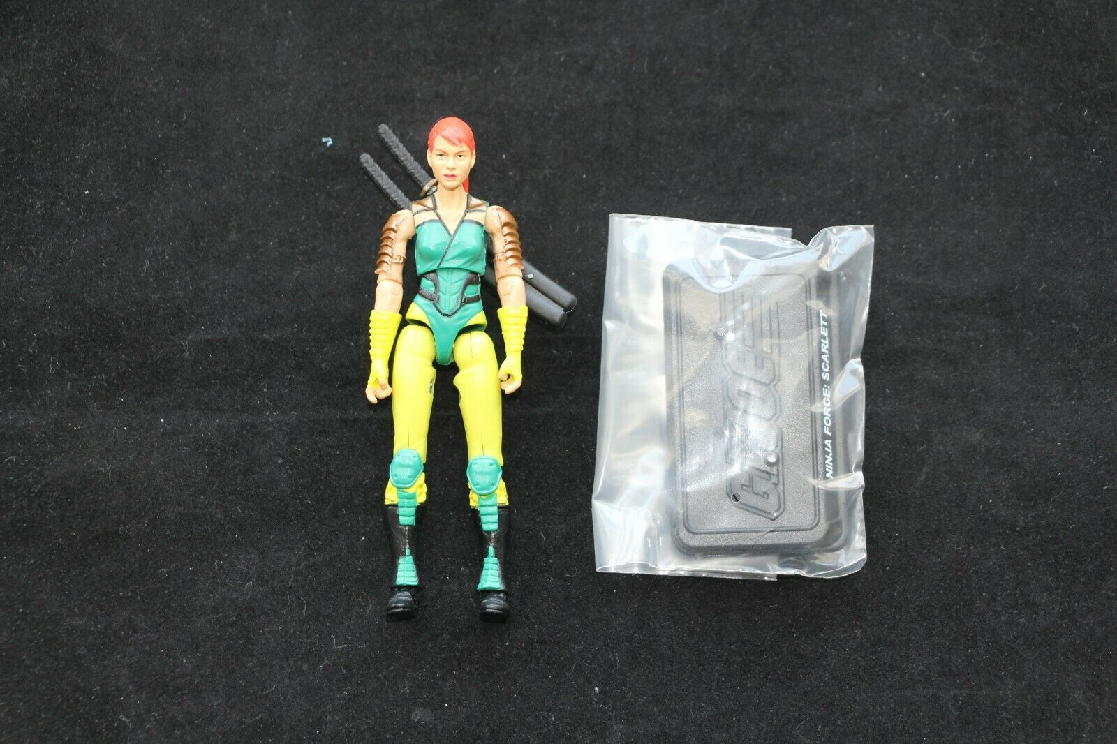GI Joe Hasbro Club Exclusive Ninja Force and Transformers Scarlett New Complete