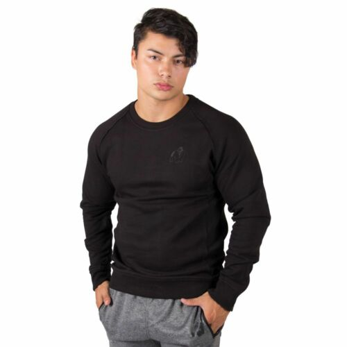 GORILLA WEAR Durango Crewneck Sweatshirt Black