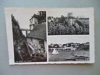 Ansichtskarte Meersburg i. B. alte Mühle Schloß1950